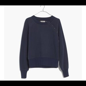 Miles by Madewell Button Neck Sweatshirt